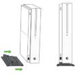 Microsoft Xbox One S vertikális állvány