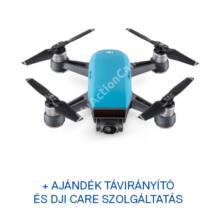 DJI SPARK drón (Sky Blue)  + ajándék Remote + ajándék Care Refresh