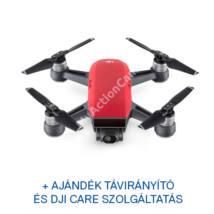 DJI SPARK drón (Lava Red) + ajándék Remote + ajándék Care Refresh