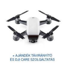 DJI SPARK drón (Alpine White) + ajándék Remote + ajándék Care Refresh