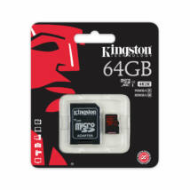 64GB Kingston microSDXC 90/80 MB/s – class10