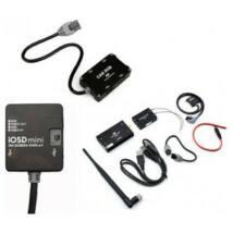 iOSD mini + 2,4GHz BT datalink (iPad ground station) + CAN HUB