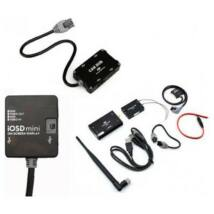 iOSD mini + 2,4GHz BT datalink (iPad ground station) + CAN HUB