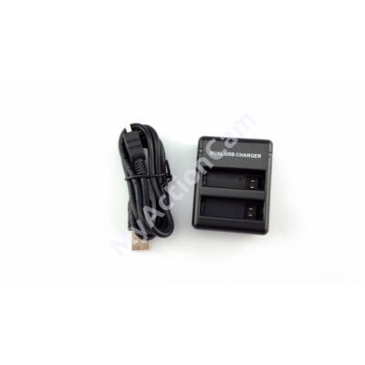 MAC Hero4 Dual Battery Charger GoPro-hoz