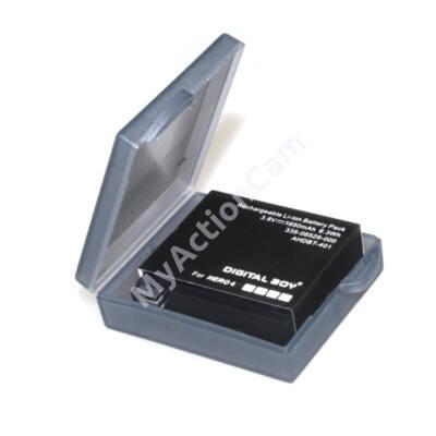MAC Hero4 Battery Case GoPro-hoz