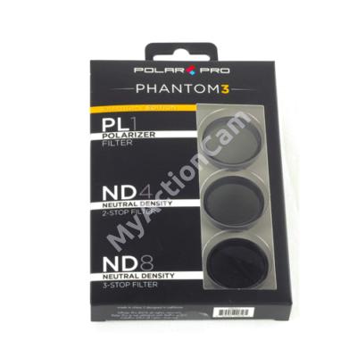 PolarPro DJI Phantom3 (Pro/Adv) / Phantom4 Filter Pack