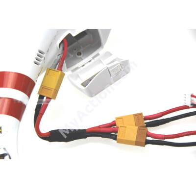 Phantom Double Battery Cable