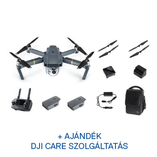 DJI MAVIC PRO Fly More Combo + ajándék Care Refresh