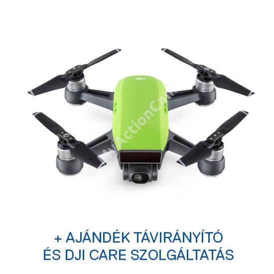 DJI SPARK drón (Meadow Green) + ajándék Remote + ajándék Care Refresh