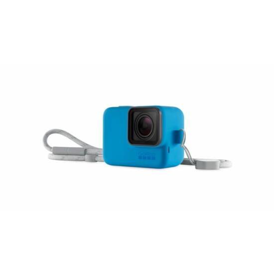 GoPro Sleeve + Lanyard - Blue