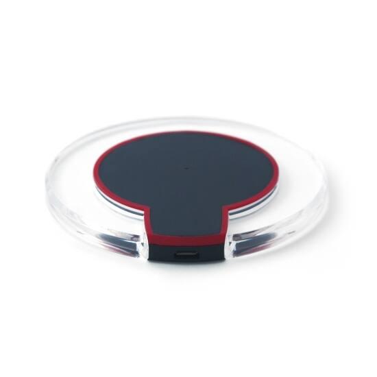 Quazar Power Disk vezeték nélküli töltő Fekete