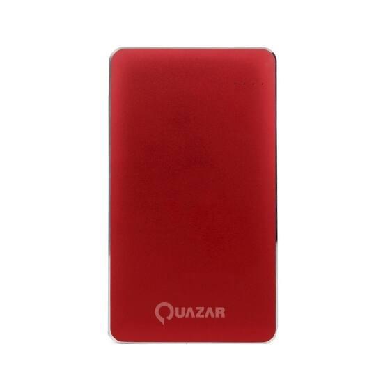 Quazar Spaceship 12000mAH powerbank piros