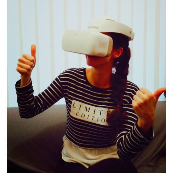 DJI GOGGLES FPV / VR szemüveg-bemutatódarab