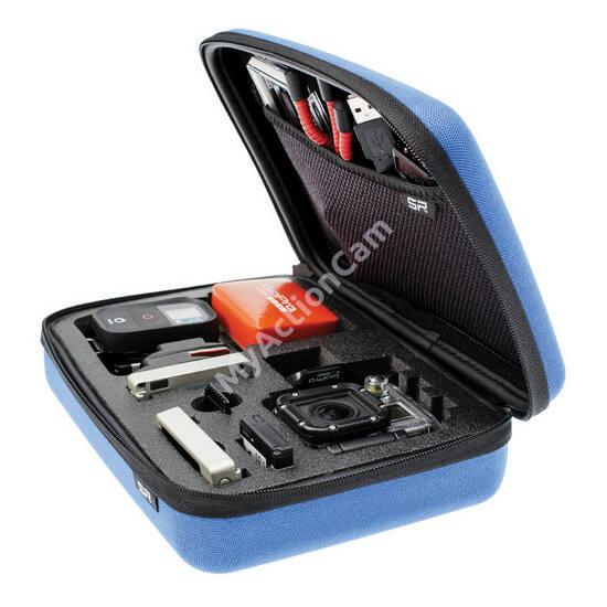 SP POV Case GoPro-Edition 3.0 blue - small