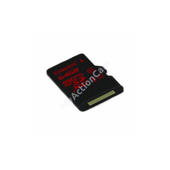 64GB Kingston microSDXC 90/80 MB/s – class10