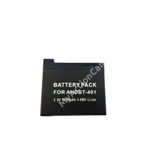 MAC Hero4 Battery GoPro-hoz