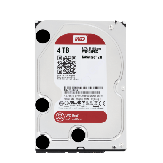Red 4 TB (WD40EFRX)