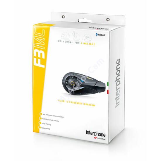 Interphone F3MC - Single Pack