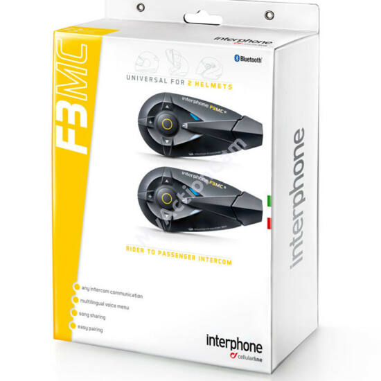 Interphone F3MC - Twin Pack