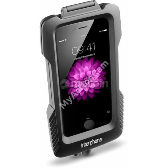 Interphone Iphone 6/6s tartó burkolt kormányra