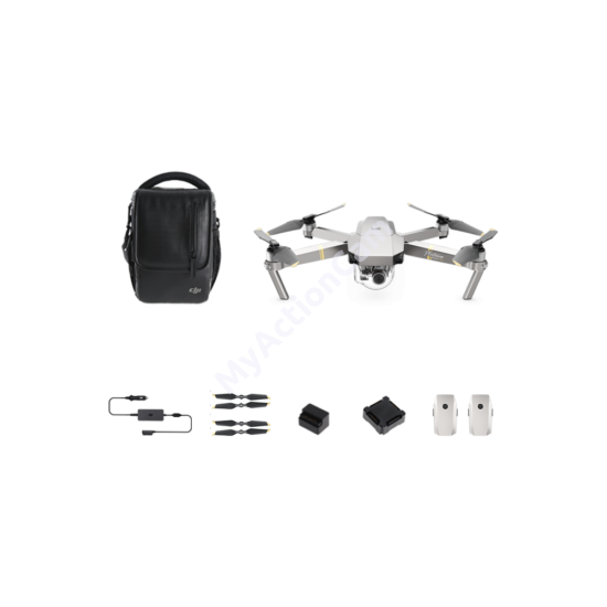 DJI MAVIC PRO Platinum Fly More Combo drón + ajándék 64GB microSD
