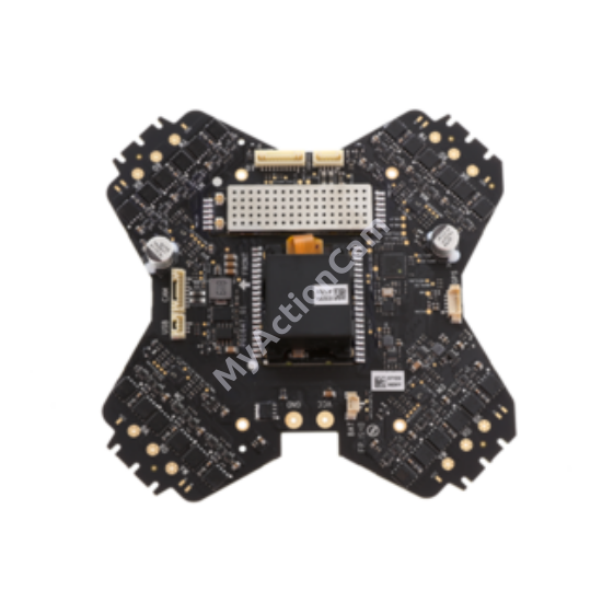 DJI Phantom 3 ESC center board & MC & Receiver 5.8G (4K)