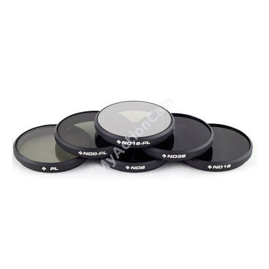 PolarPro DJI Osmo / Inspire 1 Filter 6-pack