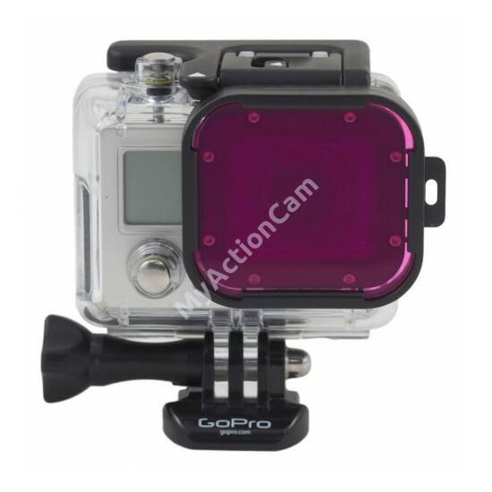 PolarPro Hero3 Magenta Glass Filter