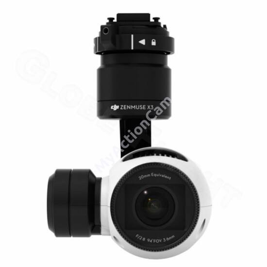 DJI Zenmuse X3 Gimbal & Camera Unit