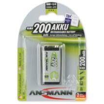 ANSMANN 9V 200mAh Ni-MH akkumulátor 1db/csomag
