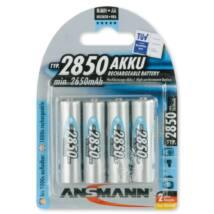 ANSMANN AA/ceruza 2850mAh Ni-MH akkumulátor 4db/csomag