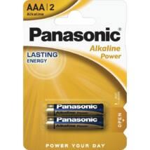 Panasonic Alkaline Power AAA mikro 1.5V alkáli/tartós elemcsomag LR03APB-2BP