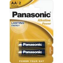 Panasonic Alkaline Power AA ceruza 1.5V alkáli/tartós elemcsomag LR6APB-2BP