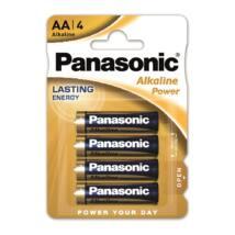 Panasonic Alkaline Power AA ceruza 1.5V alkáli/tartós elemcsomag LR6APB-4BP