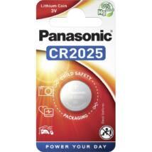 Panasonic CR2025/1B lítium gombelem (1db / bliszter)