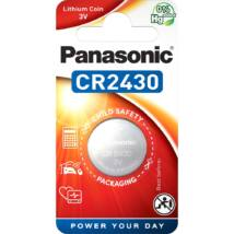 Panasonic CR2430L/1BP lítium gombelem (1 db / bliszter)