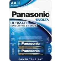 Panasonic EVOLTA AA ceruza 1.5V szupertartós alkáli elemcsomag LR6EGE-2BP