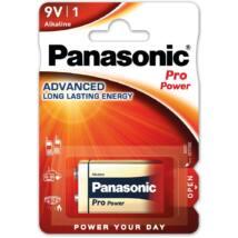 Panasonic Pro Power 6LR61PPG/1BP 9V blokk szupertartós alkáli elem