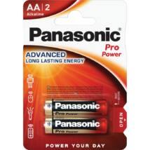 Panasonic Pro Power AA ceruza 1.5V szupertartós alkáli elemcsomag LR6PPG-2BP