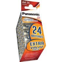 Panasonic Pro Power AA ceruza 1.5V szupertartós alkáli elemcsomag LR6PPG-24PD