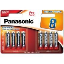 Panasonic Pro Power AA ceruza 1.5V szupertartós alkáli elemcsomag LR6PPG-8BW