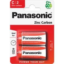 Panasonic Red Zinc C/baby 1.5V cink-mangán tartós elemcsomag
