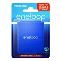 eneloop BQ-CASEL/1E akkubox kék szín, 4db AA/AAA akkuhoz
