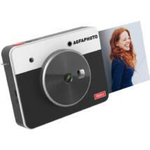 Agfa Realipix Square S, instant fényképezőgép, fekete, LCD Kijelző