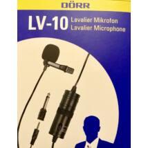 Dörr LV-10 csíptetős mikrofon