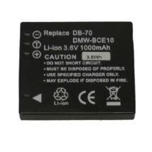 Dörr akkumulátor, Panasonic DMW-BCE10E / CGA-S008 / VW-VBJ10 / Ricoh DB-70-nek megfelelő