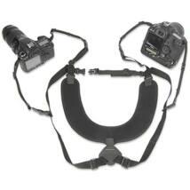 OpTech USA Dual Harness XL dupla hám, extra hosszú, fekete