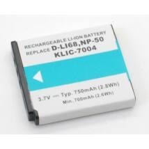 Dörr akkumulátor, Fuji NP-50 / Pentax D-Li68-nak megfelelő