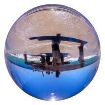 Rollei Optikai Üveggömb 110 mm, fotózáshoz