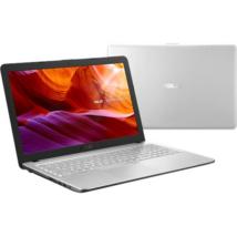 Asus  X543UB-DM1601 ezüst 15,6 FHD  i3-8130U/8GB/256GB/MX110 2GB/Endless